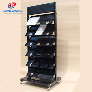 Manufacture Ceramics Tiles Metal Hanging Display Stand