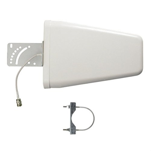 Buy 800 2700MHz panel Aerial 12dbi 4G Outdoor directional LPDA <strong>antenna</strong> for mobile signal booster