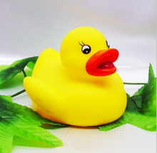 Promotional Toy Yellow Rubber Bath Duck Vinyl Duck