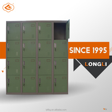 Sturdy Steel construction 4 compartment 16 doors steel locker
