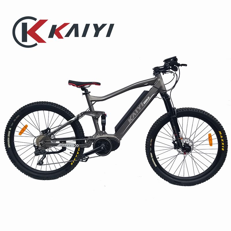 KAIY hydraulic disc brake full suspension electric bicycle <strong>engine</strong>