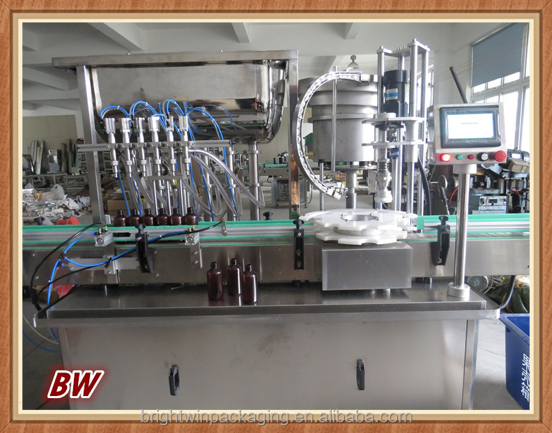 bottle chutney filler capper machine with CE ISO9001