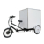 China Manufacturers City Street Touring Three Wheels Electric Cargo Trike, Big Box Goods Transport Bike