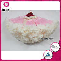 2015 multi color summer boutique baby dance tutu skirts chiffon pettiskirt tutu newborn valentine petit skirt fluffy for girls