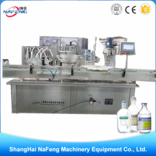 Shanghai automatic normal saline/vial Amino Acids and Coenzymes Type Glutathione injectable filling machine