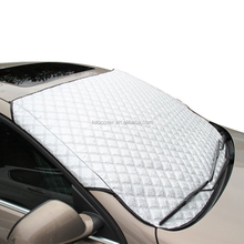 4 layers aluminum foil multi-used car front sunshade windshield snow cover