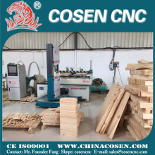 Cosen cnc band saw cutting machine price horizontal band saw for wood