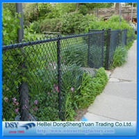 100% Direct Factory Supply PVC Coated and Galvanized In Store Chain Link Fence