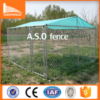 China factory galvanized outdoor waterproof dog kennel