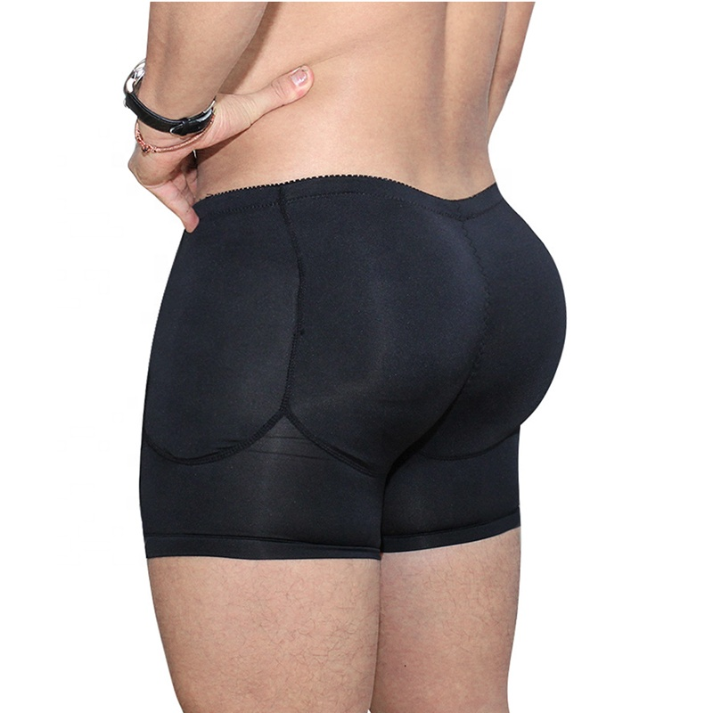 Hot Sale Nylon Men Underwear Sexy Men Boxers and Underwear with 4 Pads