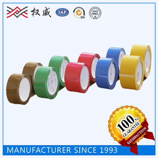 China Famous Brand --- Zhejiang JV, Colors Customized BOPP Adhesive Tape