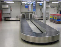 Airport Luggage Handling System Baggage Conveyor belt