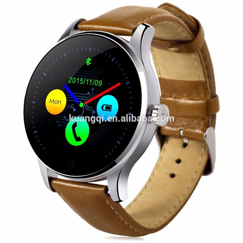 Multifunctional gps wifi 3g smart watch leather bracelet wrist watch tv mobile phone for wholesales