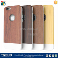 low price china blank wood plastic phone case for iphone 6s