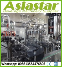 CE ISO automatic glass bottle juice making machine