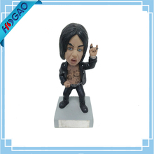 Custom size 5'' Action Figure 6'' statue 7'' Polyresin Bobble Head