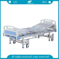 AG-BMS008 with 8-legs invacare 3 functions manual hospital bed price