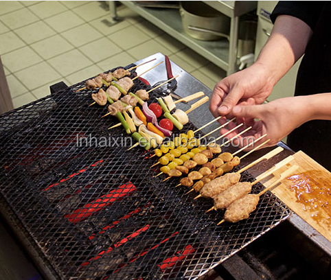 bamboo skewers bamboo stick for steak and vegetables bbq