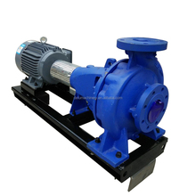 electric motor horizontal single stage end suction centrifugal water booster pump