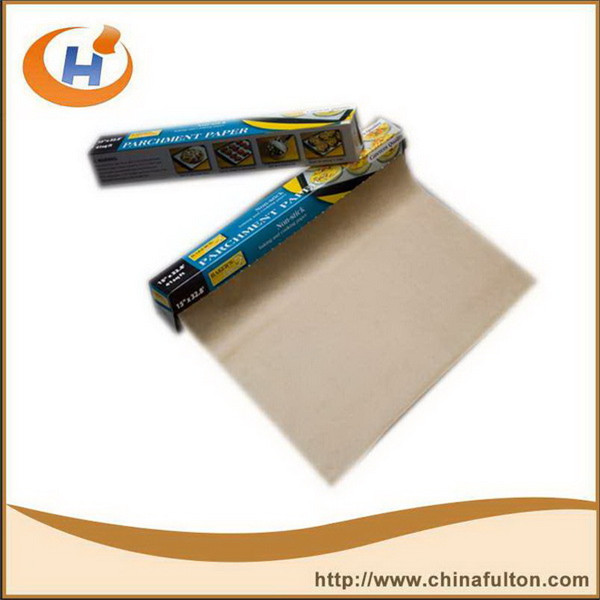 100% virgin wood pulp Silicone coated Parchment Baking stocklot paper