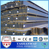 YSW 60-275g hot dip galvanized steel h beam weights for construction