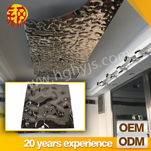 China new cheap stainless steel suspended ceiling tiles board prices south africa material pop designs in hall