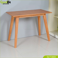 Solid wood made in china modern nail table and vanity table for women