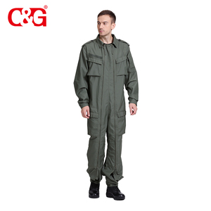 Professional design military pilot nomex combat uniform tanker suit