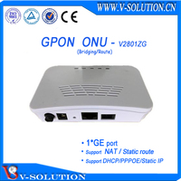 Downlink gigabit PBX available Mini GPON ONU compatible with ZTE OLT