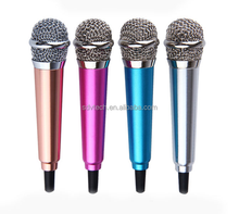 New Fashion USB Q9 Microphone KTV Karaoke Handheld Mic Speaker Wireless Microphone for IOS for Android Smartphone