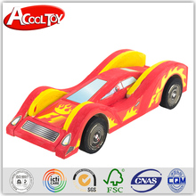 alibaba italia latest product good price DIY wooden race car games for kids