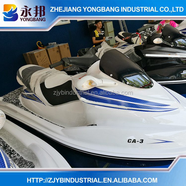 YONGBANG New design different color painting YB-CA-3 250CC 4 Stroke 2 persons Cheap Mini China Jetski for sale