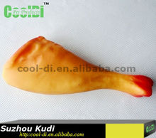 chicken leg latex dog toy KD0507367