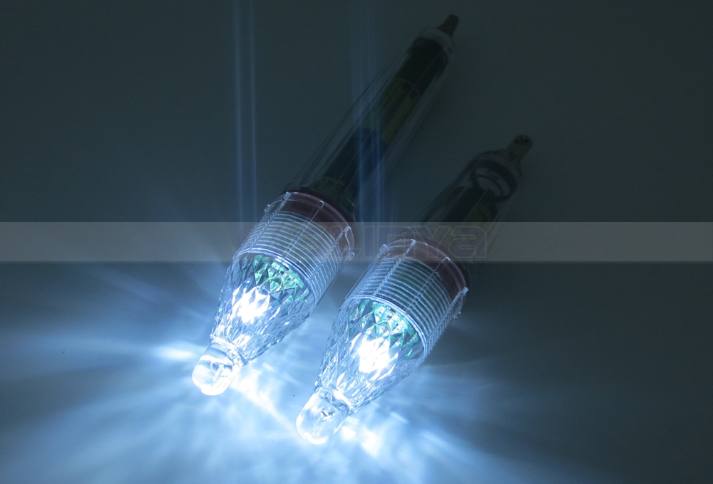6CM 12CM 17CM Color Underwater LED Fishing Bait Light Signal Lamp