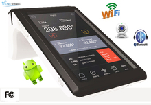 Cash payment machine NFC/chip card reader TS-7002 with 7 inch android tablet PC