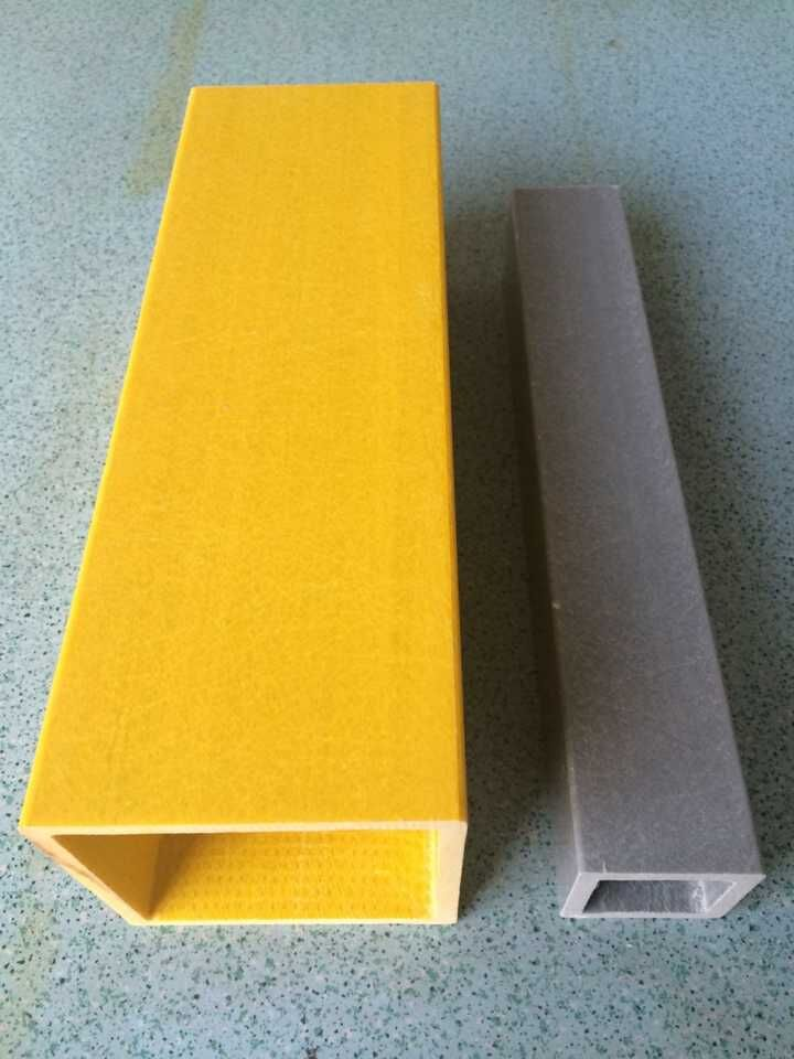frp square tube frp plutruded profiles,pultrusion products