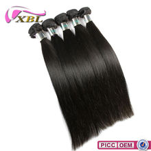 XBL New Arrival Top 7A Virgin Double Layers Malaysian Kinky Straight Hair Weave