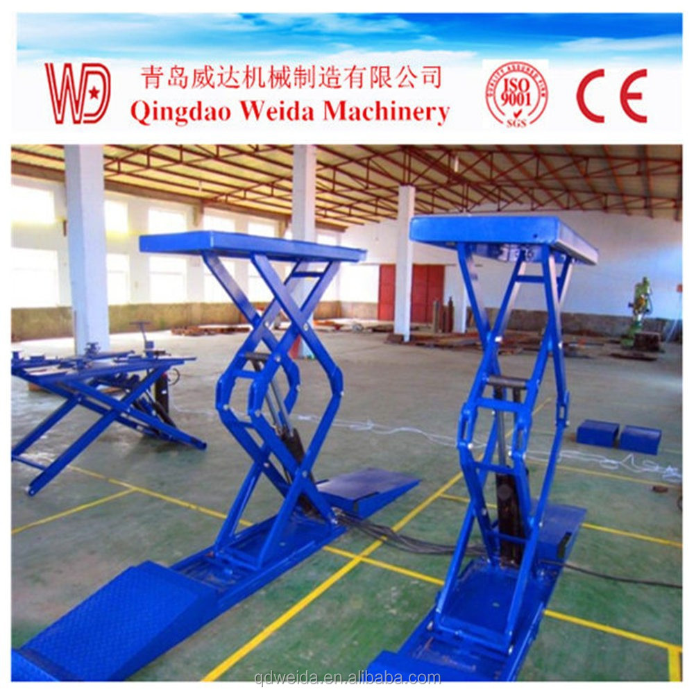 Inground Scissor Car Lift For Hoist Car