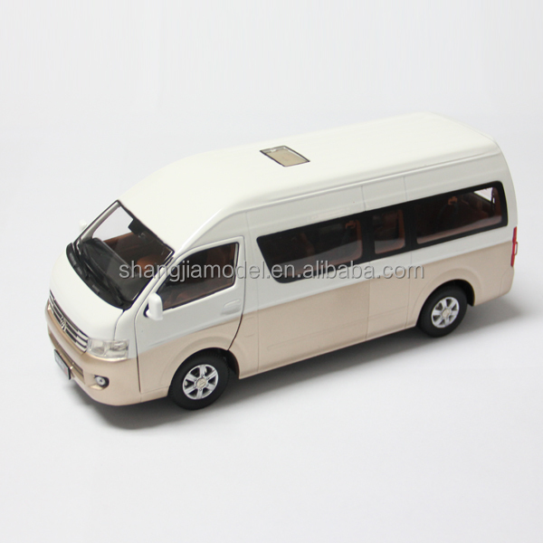 1:18 Foton diecast passenger car model van model high quality mini bus model