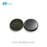 3V Lithium button/coin cell LiMnO2 CR2025 battery