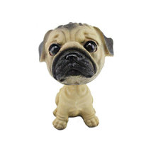 Bobble Head Dog Doll Shaking His Head Puppy Cute Decorations for Car Creative Gift