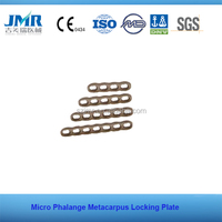Gemmery Machines Bone Healing Plate Micro Phalange Metacarpus Locking Plate lcp plate Orthopedic implant
