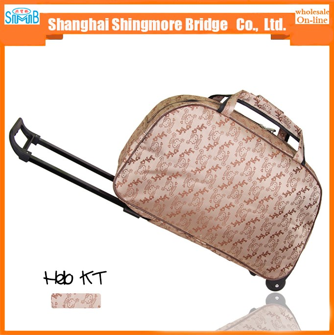 cheap wholesale high quality travel trolley luggage bags