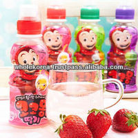 Character beverage / Children drink / Grape / Strawberry / Apple / Fruits juice