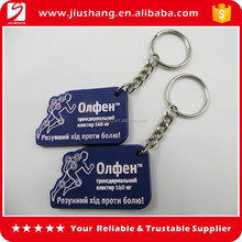 Promotional sport pvc keychain, eco friendly pvc keychain for wholesale, various designs of 3D pvc keychain