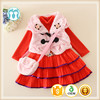 Girls Boutique Clothes Dress Set Baby Girls Winter Outfit With Coats and Bags 3PCS Clothing Set For Baby Girls