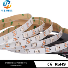 5V 7.2W WS2812B 30LEDs IP67 Programmable RGB Christmas LED Strip Light with Remote Control