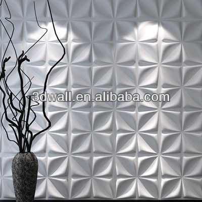 Graceful decorative 3d wall panel TV background wal