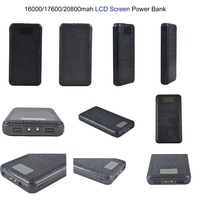 Exmight 20000mah power bank electronics rechargeable large battery for mobiles real16000mah