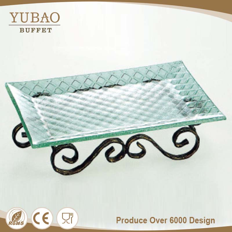 China Manufacturer Rectangle Wire Mesh Security Glass Cheap Bulk Dinner Plates